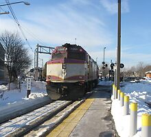 1060 MBTA Commuter Rail Part 2 by Eric Sanford