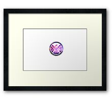 Shield logo Framed Print