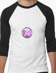 Shield logo Men's Baseball ¾ T-Shirt