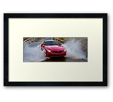 Red Zed Wet, Wet, Wet! Framed Print