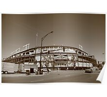 Wrigley Field - Chicago Cubs Poster