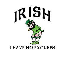 Funny Irish Photographic Print