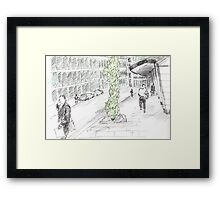 London series Framed Print