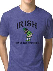 Funny Irish Tri-blend T-Shirt