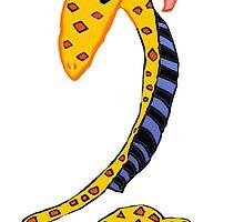 Hayley The Giraffe by pinkyjainpan