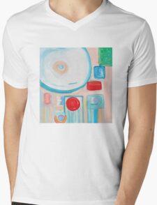 Hi! Mens V-Neck T-Shirt