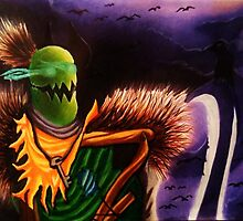 Fiddlesticks the Scarecrow by MaximumRide93