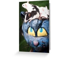 Rats on the Brain Greeting Card