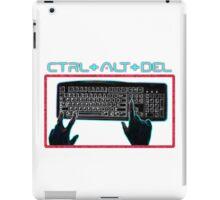 Ctrl-Alt-Del Retro iPad Case/Skin