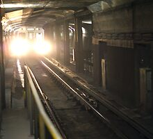 The TTC Toronto Subway Tunnel by Moodycamera Photography
