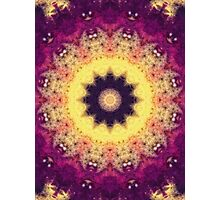 Flower Energy Photographic Print
