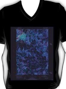 USGS Topo Map Oregon Oregon City 281000 1954 24000 Inverted T-Shirt