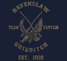 Ravenclaw Quidditch Athletic Tee Harry Potter Shirt