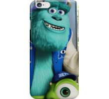 Mike and sully iPhone Case/Skin