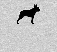 Boston Terrier Silhouette(s) Unisex T-Shirt