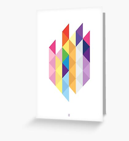 My Little Pony - Mane Six Abstraction I Greeting Card