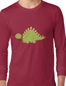ScarfTegosaurus Long Sleeve T-Shirt