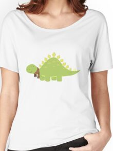 ScarfTegosaurus Women's Relaxed Fit T-Shirt