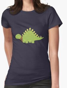 ScarfTegosaurus Womens Fitted T-Shirt
