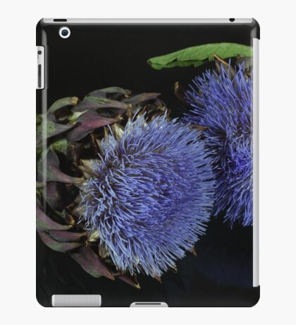 Artichoke flowers iPad Case/Skin