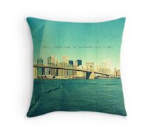 2011 Throw Pillow