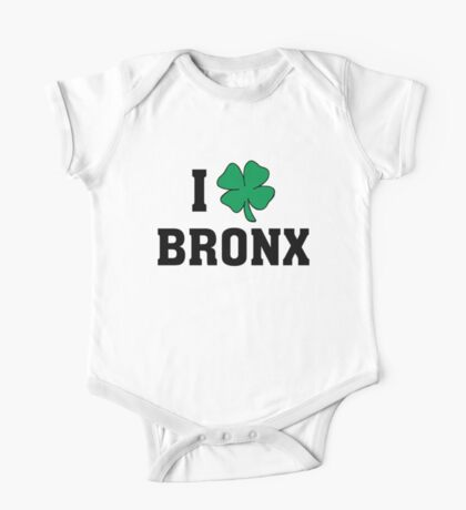 I Love (Shamrock) Bronx One Piece - Short Sleeve