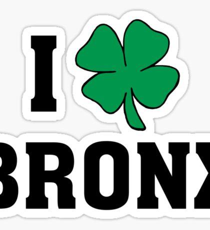 I Love (Shamrock) Bronx Sticker