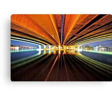LIGHTS CAMERA...ACTION! Canvas Print