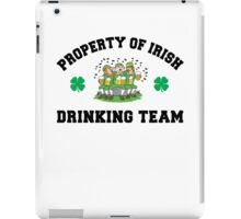 Irish Drinking Team iPad Case/Skin