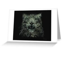 Your Highness - Snow Leopard Greeting Card
