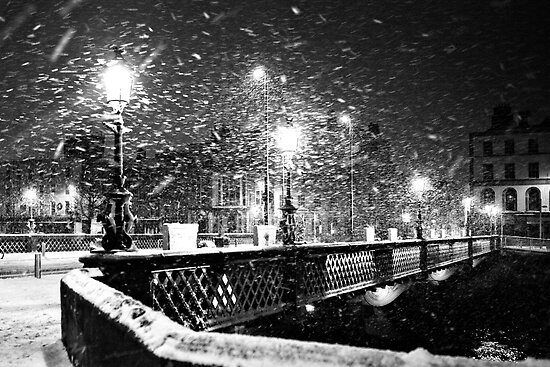 Winter in Dublin by Paul O'Connell