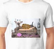 Goldenberry The Siamese Snail Cat Unisex T-Shirt