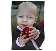 apple baby Poster