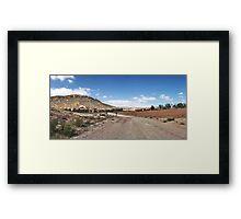 Exit of Warrens Gorge, Flinders Ranges Framed Print