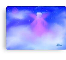 JANUARY ANGEL, ANGEL IN MY HEART Canvas Print