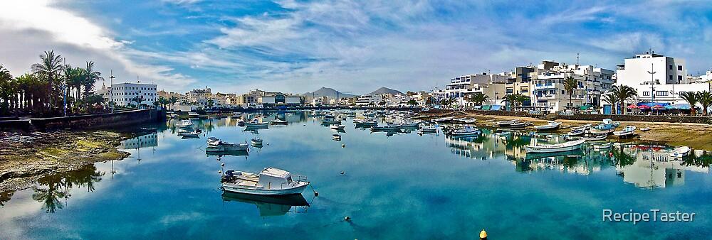 Touristic port in Arrecife by RecipeTaster