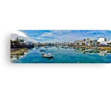 Touristic port in Arrecife Canvas Print