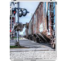 Railroad Signal iPad Case/Skin