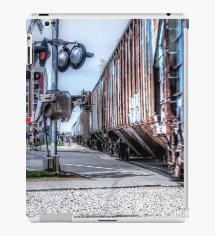 Railroad Signal iPad Case/Skin