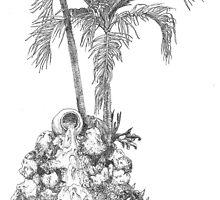 Garden Fountain by W. H. Dietrich