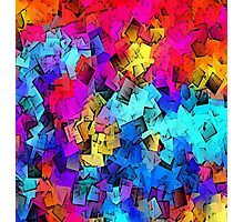 ABSTRACT BLOX Photographic Print