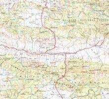 USGS Topo Map Oregon Canyon City 283310 1955 250000 Sticker