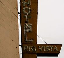Old Hotel in Rio Vista by Barbara Wyeth