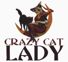 Crazy Cat Lady vintage halloween One Piece - Short Sleeve