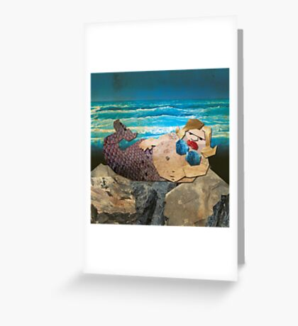 BEHOLD ... THE UGLY MERMAID Greeting Card