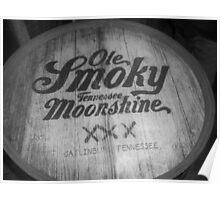 Old Smokey Moonshine Poster