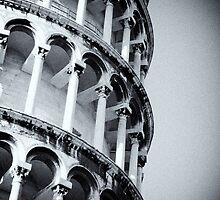 Leaning Tower of Pisa detail by Daniel Pertovt