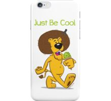 Be Cool Lion iPhone Case/Skin