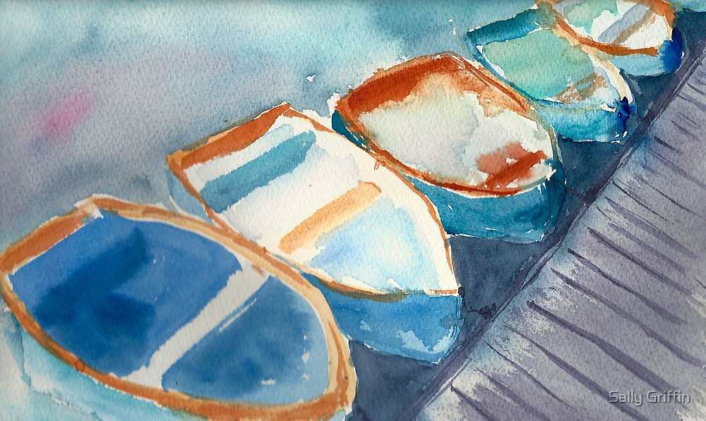 Boats...A Few of My Favorite Things by Sally Griffin