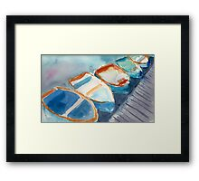 Boats...A Few of My Favorite Things Framed Print